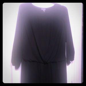 Vince Camuto little black dress 1x